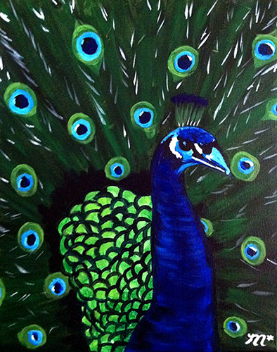 Fine Art W&C Peacock