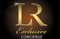 LR Exclusive Concierge Logo Design