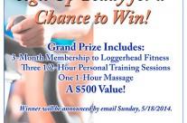 Loggerhead Fitness Event Poster