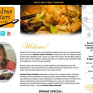 Andrea Caters Orlando Website
