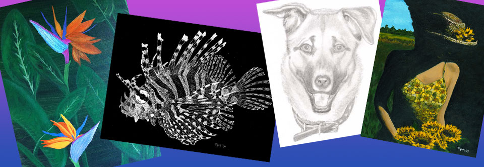 Original Art In Various Media & Styles
