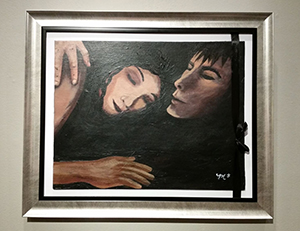 Embrace #1 Painting